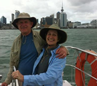 Tom and Shirley in New Zealand
